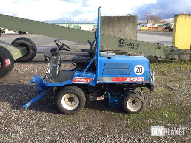 Iseki SF300 Mower Tractor in U S Army Depot, Germersheim