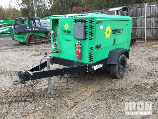 2011 Doosan Infracore HP375WJD-T3 375 CFM Air Compressor in