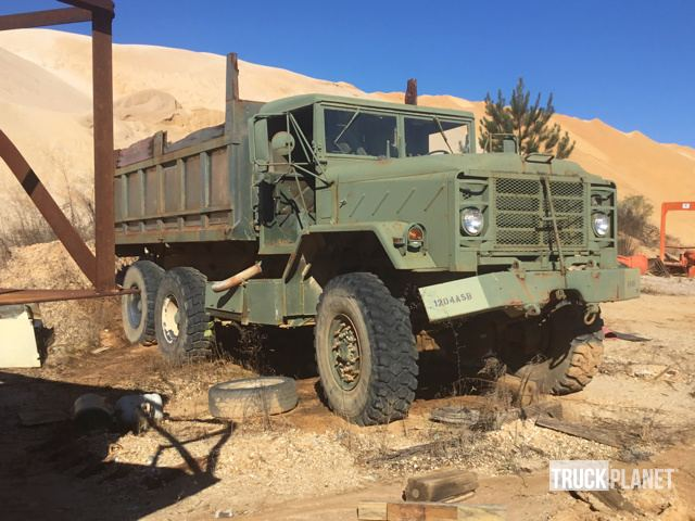 AM General M923A2 6x6 T/A Dump Truck in Jackson, Alabama