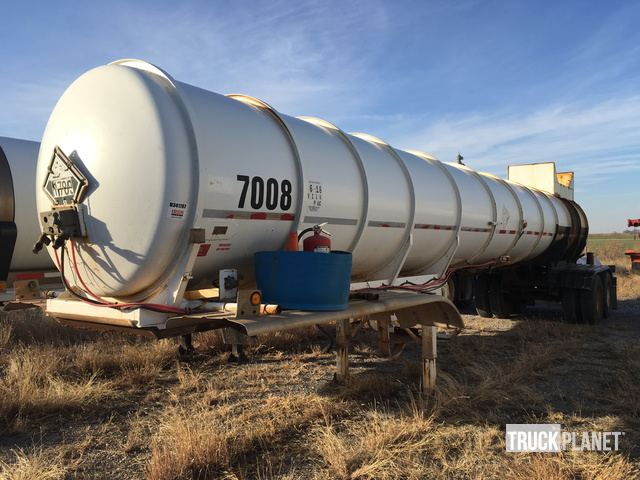 1988 Polar Tank T/A Acid Tanker Trailer in Fairview