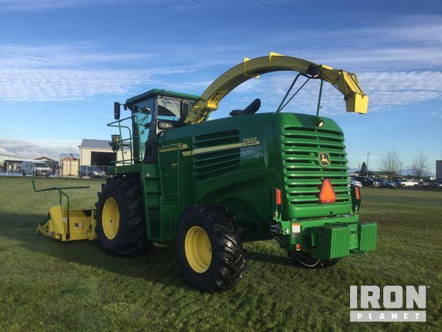 John Deere 7300 Self Propelled Forage Harvester in Lynden