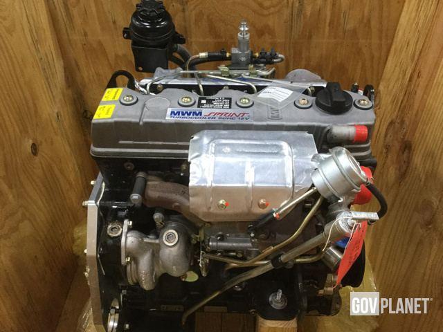 Surplus MWM Sprint Turbocooler SOHC 12V Engine in Chambersburg