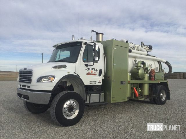 2008 Freightliner M2 Business Class Hydro Excavation Truck