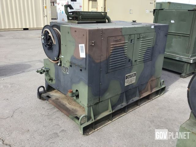 Surplus Davey 16MS125 125 CFM Air Compressor in Las Vegas