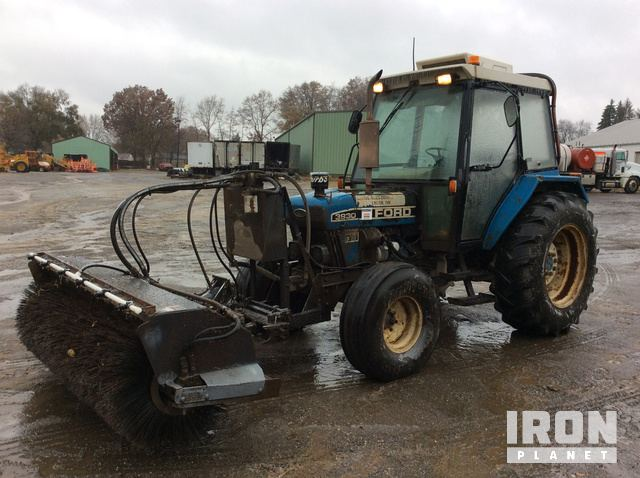 Ford 3930 Broom Tractor in Canton, Ohio, United States (IronPlanet