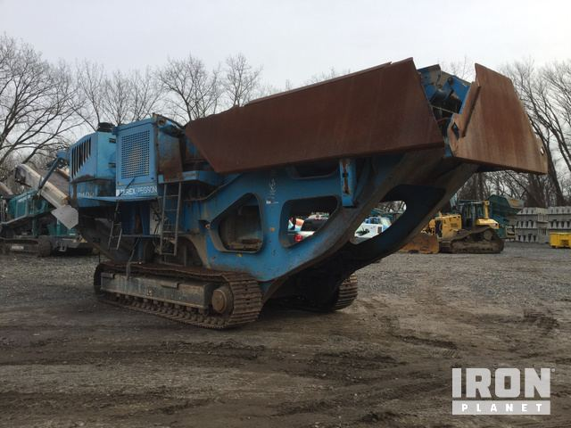 2008 Terex Pegson XR400 Tracked Mobile Jaw Crusher in