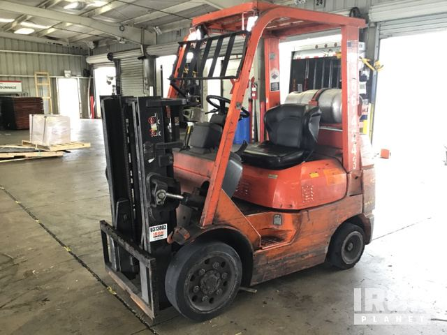 Toyota Richmond Indiana >> Toyota 7fgcu25 Cushion Tire Forklift In Richmond Indiana