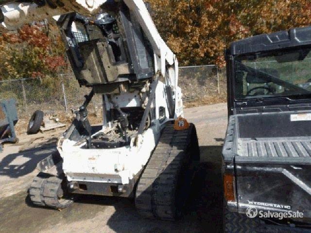 2012 Bobcat T650 Compact Track Loader in O Fallon, Missouri