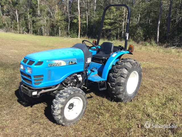 2014 (unverified) LS Mtron G3033 4WD Tractor in Burgaw, North
