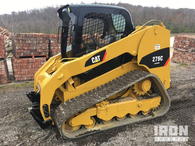 2012 Cat 279C Compact Track Loader in Cincinnati, Ohio