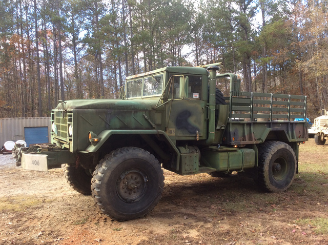 14cb241a3d 1984 (unverified) AM General M925 5 Ton 6x6 Cargo Truck Bobbed to 4x4