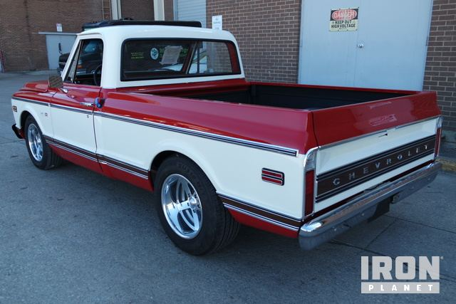 1972 Chevrolet C10 Shortbed Pickup in Dallas, Texas, United