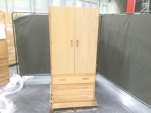 Amazing Lot Of (12) Armoire Cabinets