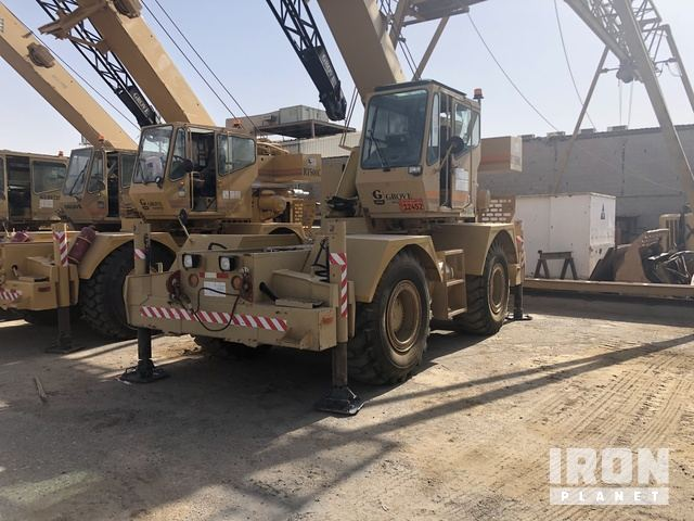 1999 Grove RT500C Rough Terrain Crane, Rough Terrain Crane