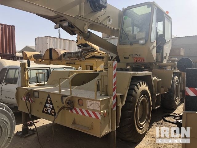 1999 Grove RT530E Rough Terrain Crane, Rough Terrain Crane