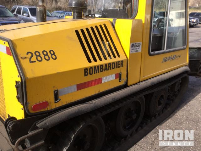 Bombardier SW 48 HY Snow Plow in St  Paul, Minnesota, United States