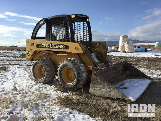 John Deere 250 Skid-Steer Loader in Kalispell, Montana, United ... on