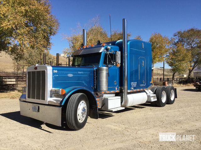 1998 Peterbilt 379 T/A Sleeper Truck Tractor in Elko, Nevada, United