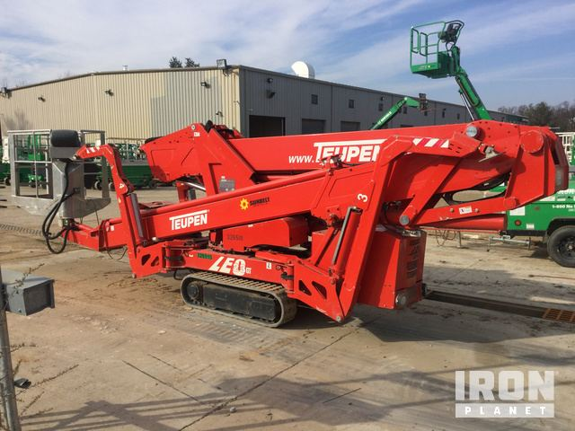 2010 Teupen LEO 23GT Crawler Articulating Boom Lift in Laurel