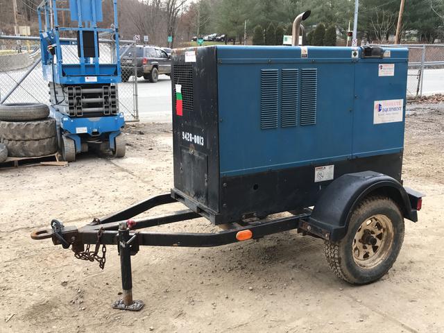 2008 Miller Electric Big Blue 400d Engine