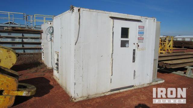 Lot 542 - (5-5) TDS-11 VFD House w/OMRON IDM Controls, REX