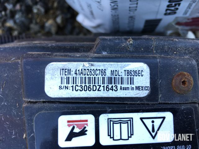 Surplus Lot of (3) Troy-Bilt TB635EC Trimmers in Saraland