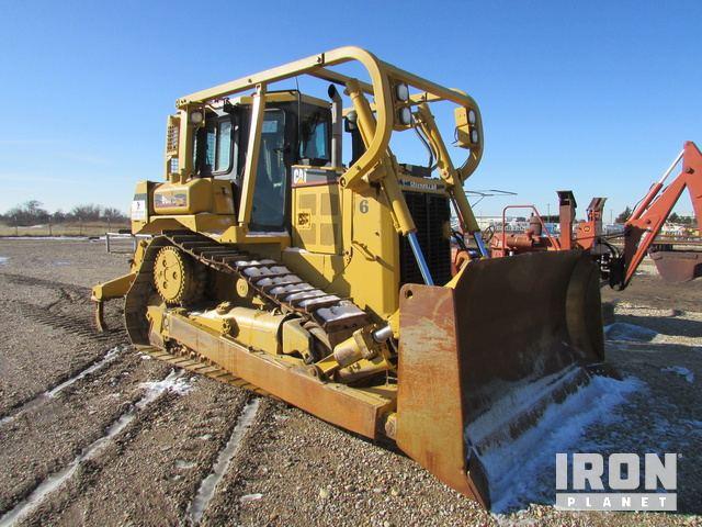 Lot 99 - (4-2) 2004 CAT D6R XL Crawler Tractor w/Forrestr… in Great