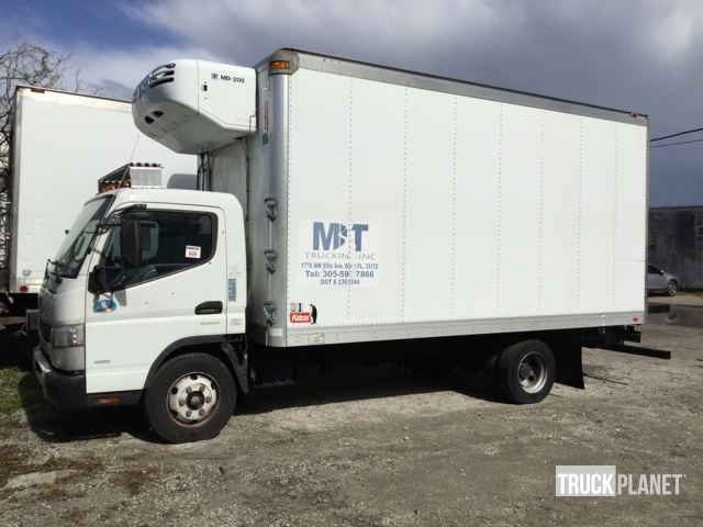 2012 Mitsubishi Fuso FE160 Refrigerated Truck in St