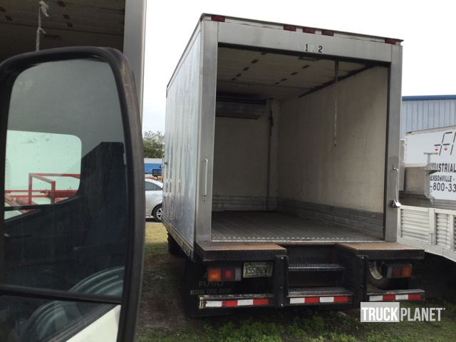 2012 Mitsubishi Fuso FE160 Refrigerated Truck in Tampa
