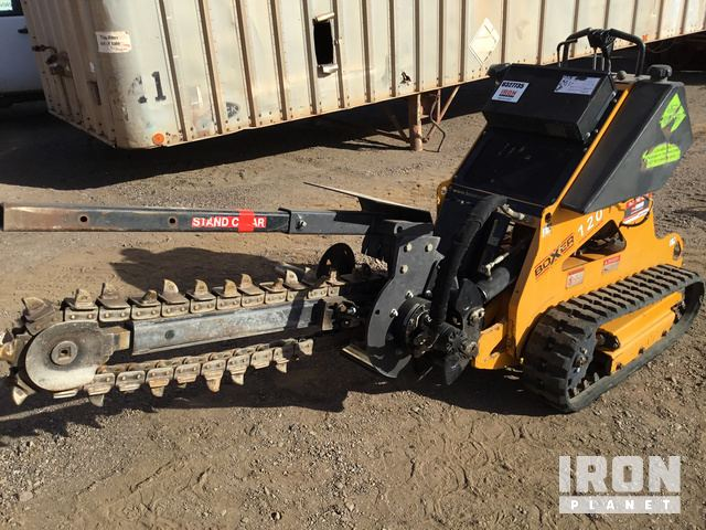 2014 Boxer 120 Trencher w/ S/A Trailer in Phoenix, Arizona