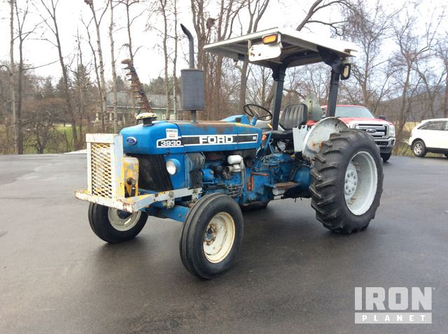 Ford 3930 Mower Tractor in Bath, New York, United States (IronPlanet