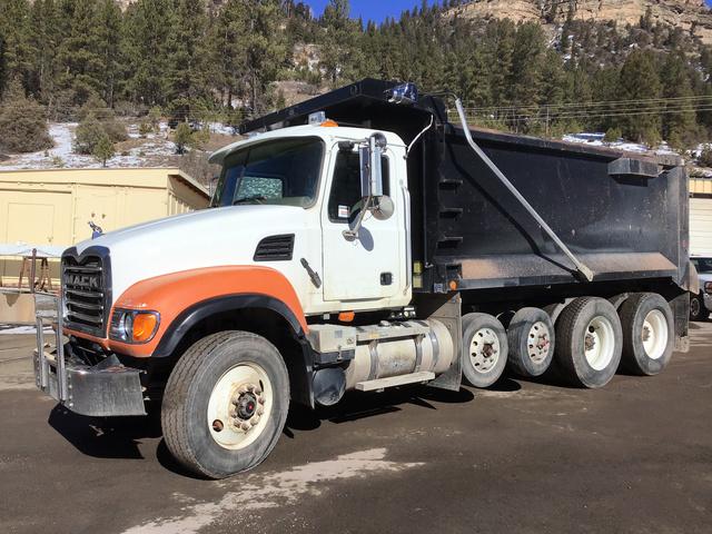 2005 Mack Cv713 Quad A Dump Truck