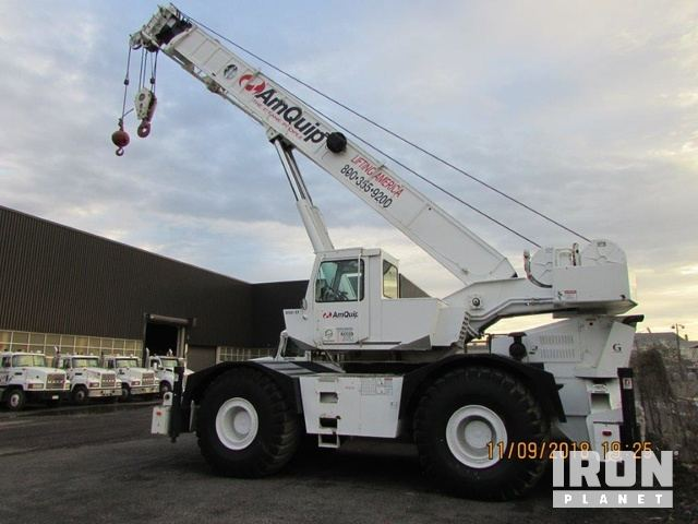 2000 Grove RT750 Rough Terrain Crane, Rough Terrain Crane