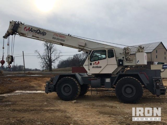 1998 Terex RT335 Rough Terrain Crane in Bensalem