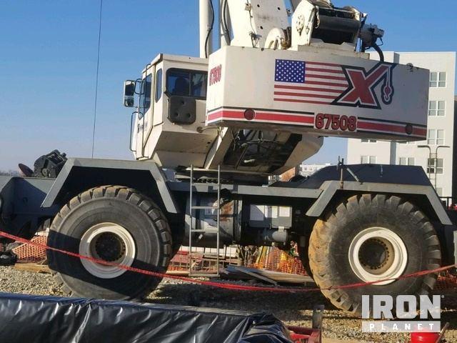 2003 (unverified) Terex RT175 Rough Terrain Crane, Rough Terrain Crane