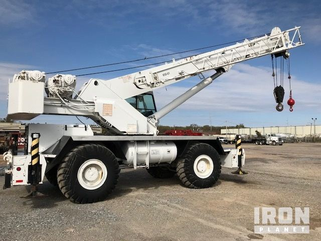 2000 Grove RT650E Rough Terrain Crane, Rough Terrain Crane