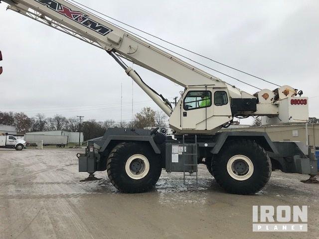 2000 Terex RT160 Rough Terrain Crane, Rough Terrain Crane
