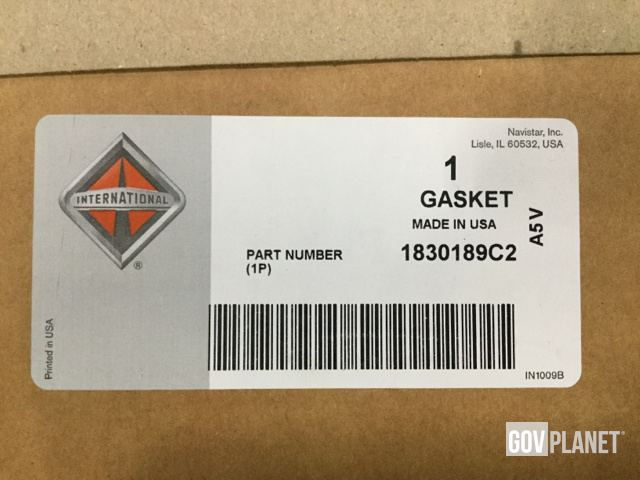 Surplus Lot of (49) Navistar 1830189C2 Gaskets in