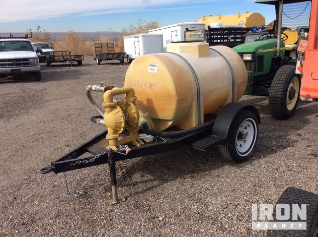 Water Tank Trailer in Albuquerque, New Mexico, United States