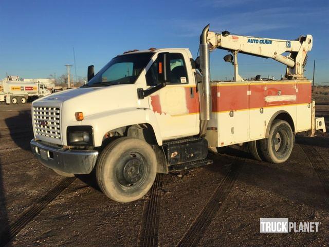 2006 GMC C7500 S A Service Truck W Crane In Pueblo