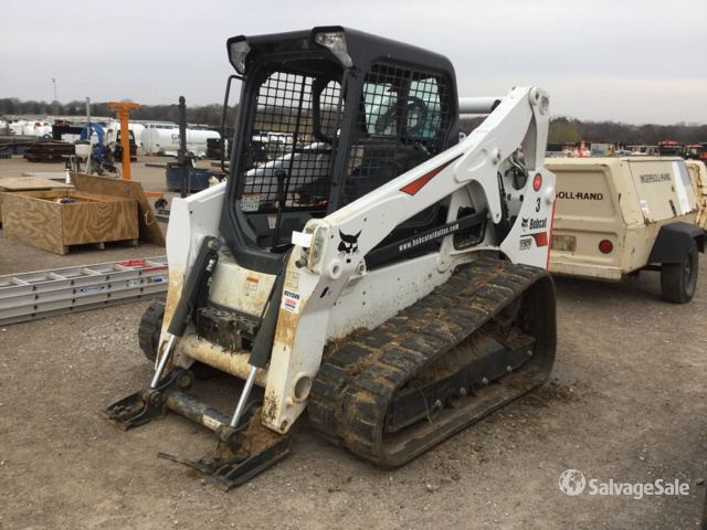 2018 Bobcat T650 Compact Track Loader in Lake Worth, Texas