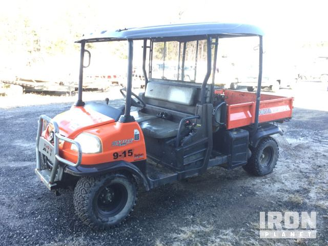 2012 kubota rtv1140cpx 4x4 utility vehicle in westover, maryland2012 kubota rtv1140cpx 4x4 utility vehicle in westover, maryland, united states (ironplanet item 1908625)