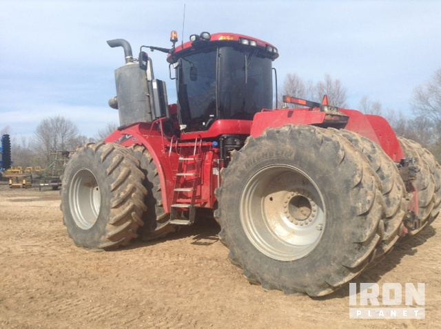 2015 Case IH Steiger 580S Articulated Tractor in McGehee