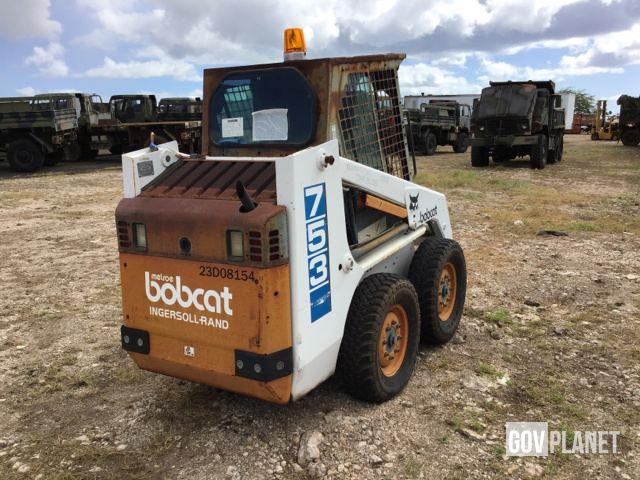 Surplus Bobcat 753 Skid-Steer Loader in Pearl Harbor, Hawaii, United