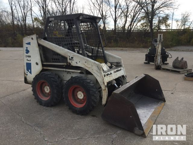 Bobcat 743 Skid-Steer Loader in Rock Island, Illinois, United States