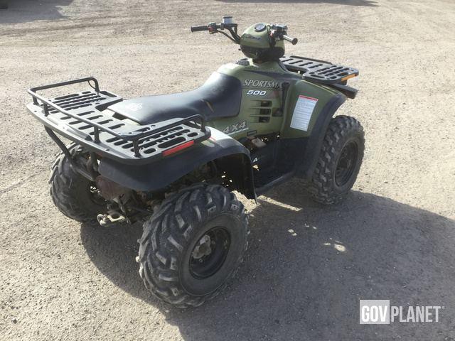 Surplus 1997 Polaris Sportsman 500 4x4 ATV in Yermo