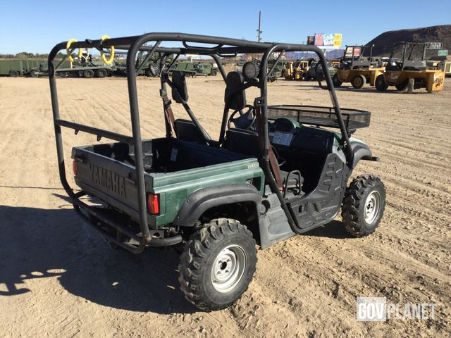 Surplus 2007 Yamaha Rhino 450 Utility Vehicle in Yermo