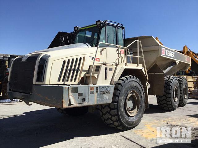 2015 Terex TA400 Articulated Dump Truck, Articulated Dump Truck