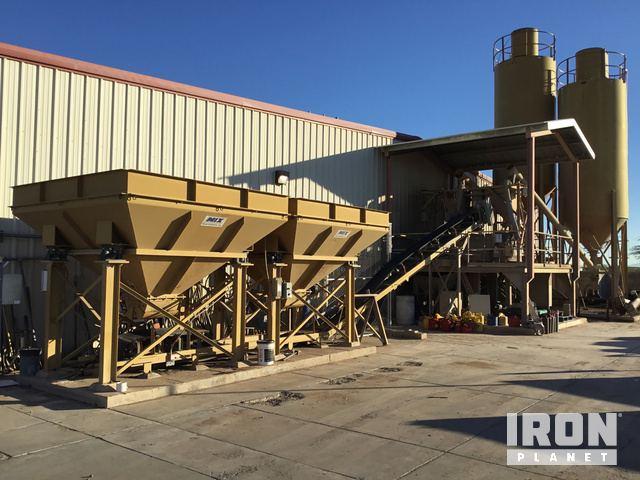 2005 Mixer Systems Econobatch Concrete Batch Plant