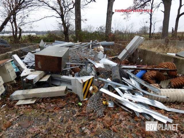 Estimated 19 25 Tons Scrap Metal - D5861 in Swanton, Ohio, United